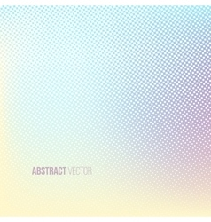 Halftone background Color square shape banner vector image vector image