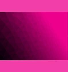 Abstract magenta poligonal background vector