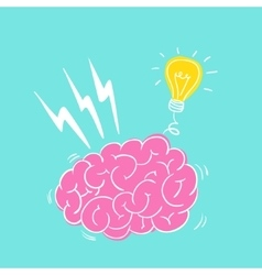 Brain storming vector image