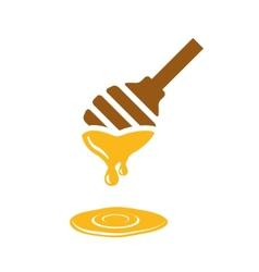 Honey ladle vector