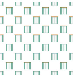living room window pattern seamless vector image