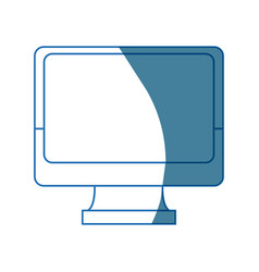 monitor screen computer device technology smart vector image