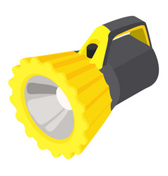 Underwater flashlight icon isometric style vector