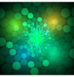 abstract bright background with circles vector image vector image