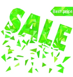 sale poly4 vector image vector image