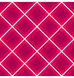 Seamless checkered tablecloth background vector image