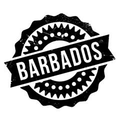 Barbados stamp rubber grunge vector