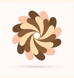 chocolate fan spin vector image
