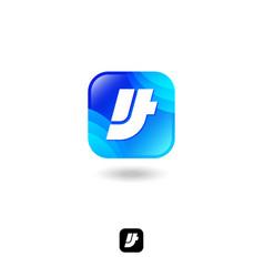 it logo like button icon web icon vector image