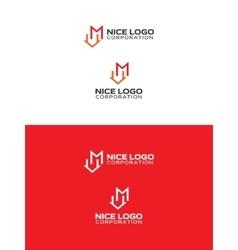 M house logo vector