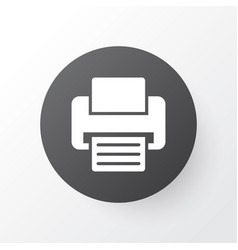 Printer icon symbol premium quality isolated fax vector