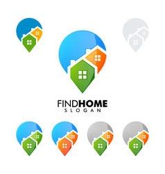 Real estate logo home house logo find home logo vector