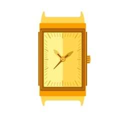 Watch Stylish accessory for men vector