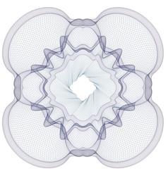 Watermark guilloche pattern for certificate vector