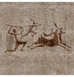 Hunt vector image