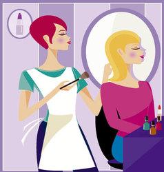 Beauty salon 2 vector