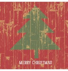 christmas tree sign vector image
