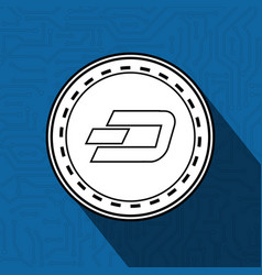 Electronic commerce with dash vector