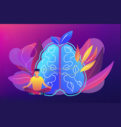 Mindfulness concept vector