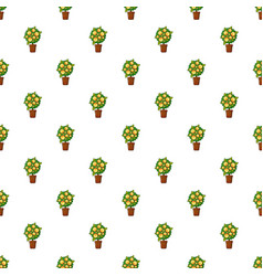 Money tree pattern vector