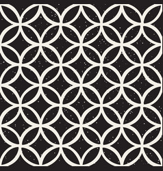 Monochrome minimalistic seamless pattern with vector