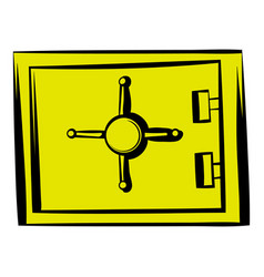 Security safe icon icon cartoon vector