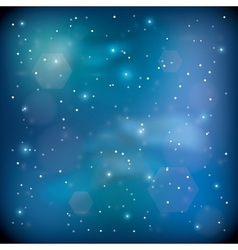 blue space vector image vector image
