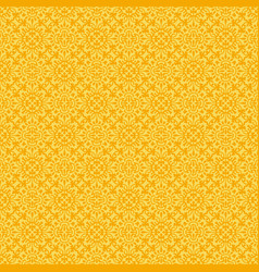 yellow flower seamless pattern background vector image vector image