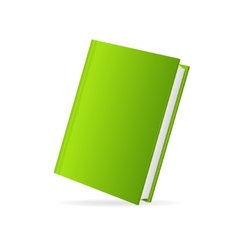 book cover green perspective vector image vector image