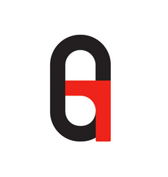 g g logo logotype - english font upper case letter vector image