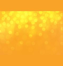 abstract yellow bokeh light luxury background vector image