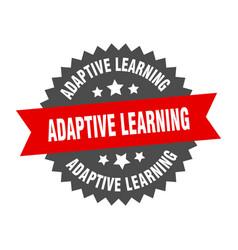 Adaptive learning sign adaptive learning circular vector