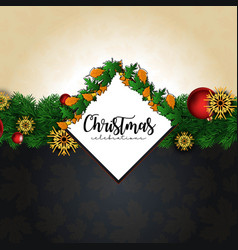 Merry christmas 2019 background vector