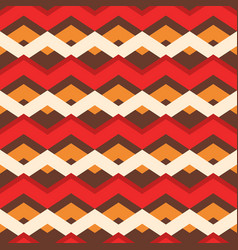 bold christmas chevron stripes background seamless vector image