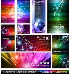 Flow of lights vector