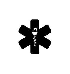 medical ambulance icon vector image