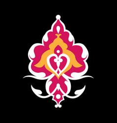 Ottoman background motifs vector