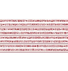 Egyptian hieroglyphic writing Set 3 vector image vector image