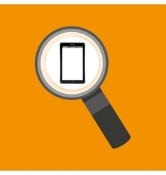 Search mobile phone navigation vector