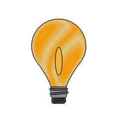 Bulb light business idea creative power vector