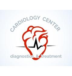 Cardiology Centre logo vector image