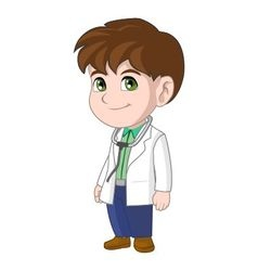 Doctor Kid vector
