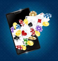 Gambling in the smartphone vector