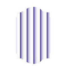 geometric shape design vector image
