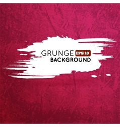 Grunge vine background with splash banner vector