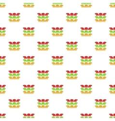 Kind of arrow pattern cartoon style vector