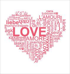 Love heart vector