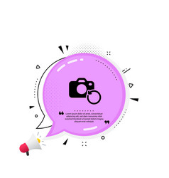 Recovery photo camera icon backup data sign vector