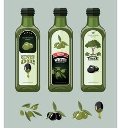 set olives vector image