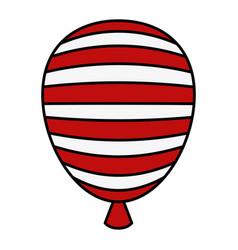 usa balloon air celebration vector image